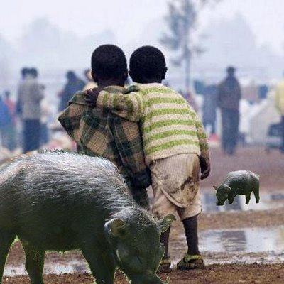 ¿Qué es el arte? - Página 2 Africa-cerdo